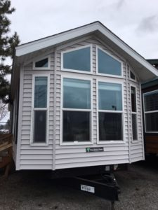 A tiny house possibility with lots of windows